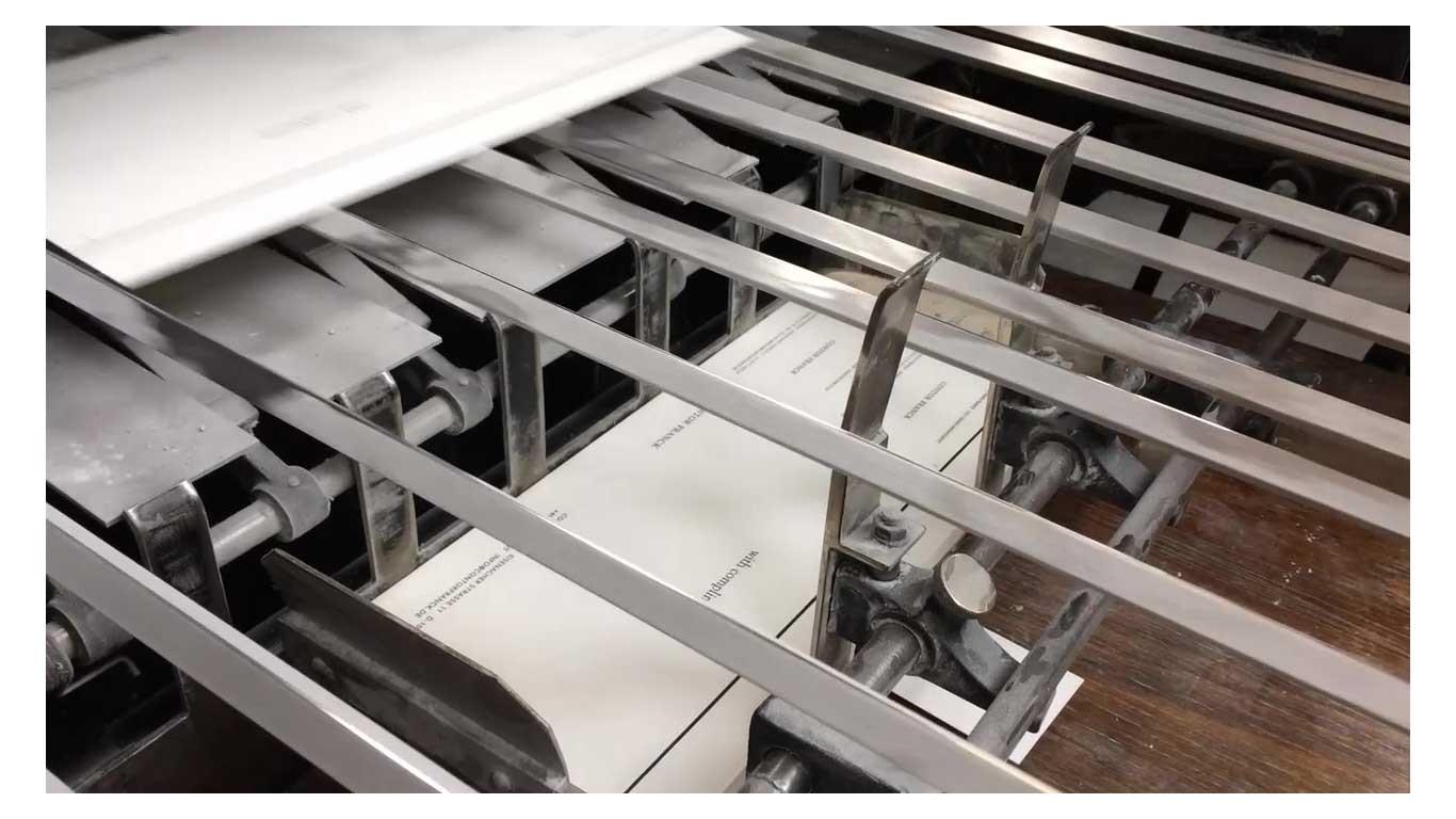 Momentaufnahme-Druckmaschine-