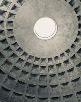 Contor Frankc die 4 DImensionen des Designs, eine Kuppel
