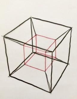Contor Franck 4 DImensionen des Designs der Hyperquader