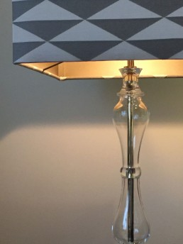 Lampenschirm leuchtend